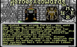 Heroes & Cowards: Adventure von den Byteriders für den C64.