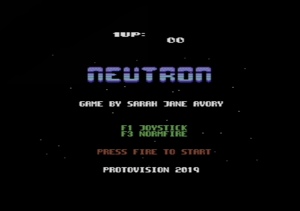 Neutron :: Protovision - High Quality C64 Entertainment Software