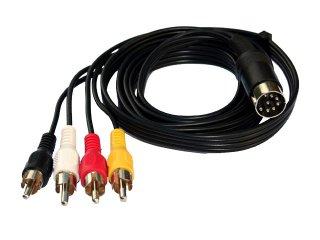 4 Cinch Monitorkabel (Y/C)