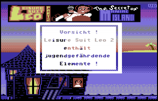 Leisure Suit Leo 2 - The Secret of Maniac Island (Download)