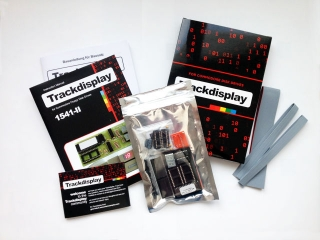 Trackdisplay (assembly set)