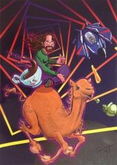 Jeff Minter Poster (Reset #11)
