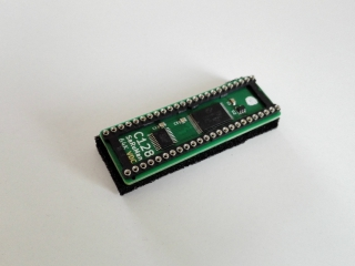 SaRuMan-VDC (64k static RAM upgrade for C128 8563 VDC)