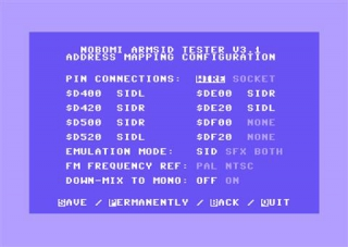 ARM2SID (Double-SID, Triple-SID or FM emulation)