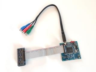 YPbPr Component VideoMod (klares Bildsignal am C64 - HDTV ready)