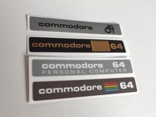 Commodore C64c Label Set